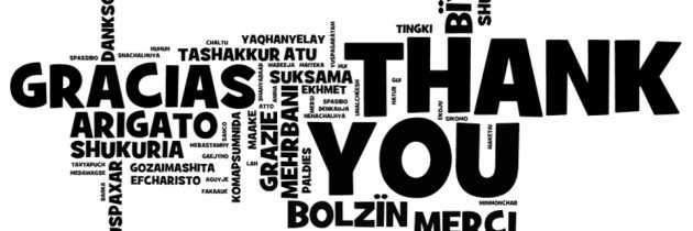 Dar las gracias o no cuando comparten nuestro contenido